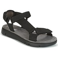 Zapatos Mujer Sandalias Camper ORUGA SANDAL Negro