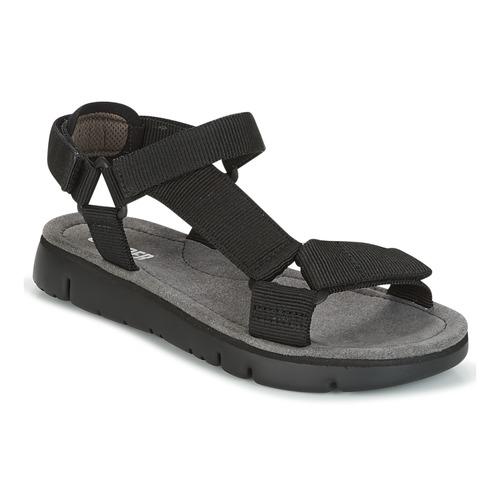 Negro Camper Mujer Sandalias Sandal Zapatos Oruga FKlJT31uc