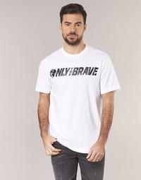 textil Hombre camisetas manga corta Diesel T JUST SV Blanco