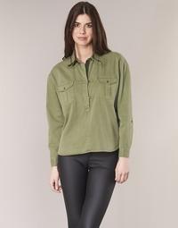 textil Mujer Tops / Blusas Maison Scotch BRAVO Kaki