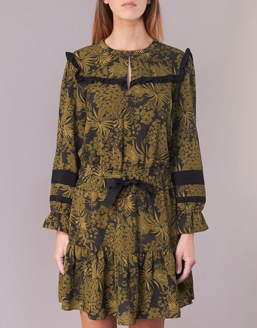 Cortos Vestidos Mujer Maison Textil Kaki Scotch Noonpl Y7y6gbf