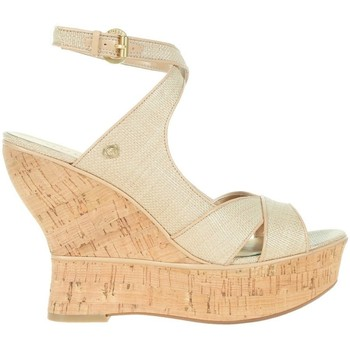 Zapatos Mujer Zapatos de tacón Guess Lailanni Zeppa Wedge Texture Beige