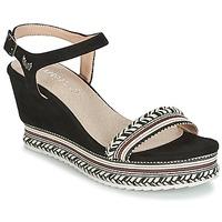Zapatos Mujer Sandalias Kaporal SLYDE Negro