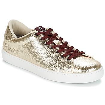 Zapatos Mujer Zapatillas bajas Victoria DEPORTIVO METALIZADO Oro