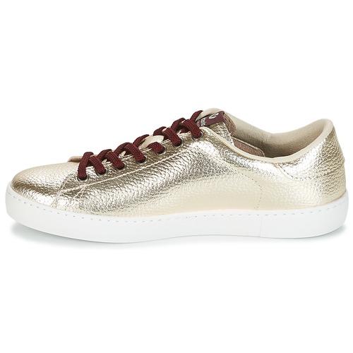 Metalizado Victoria Zapatos Mujer Bajas Deportivo Oro Zapatillas uTOPiXZk