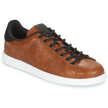Zapatos Hombre Zapatillas bajas Victoria DEPORTIVO PU CONTRASTE Marrón
