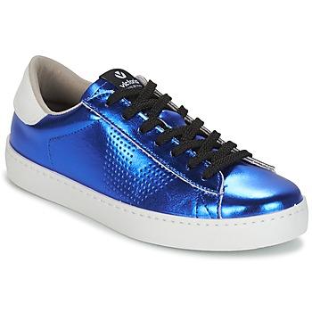 Zapatos Mujer Zapatillas bajas Victoria DEPORTIVO METALIZADO Azul