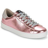 Zapatos Mujer Zapatillas bajas Victoria DEPORTIVO METALIZADO Rosa