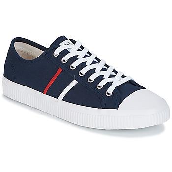 Zapatos Hombre Zapatillas bajas Jim Rickey TROPHY Marino / Rojo / Blanco