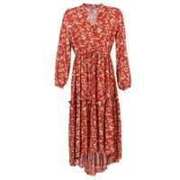 textil Mujer vestidos largos Betty London HALETTE Rojo