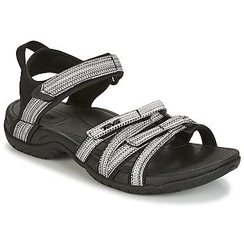 Zapatos Mujer Sandalias de deporte Teva TIRRA Negro / Blanco