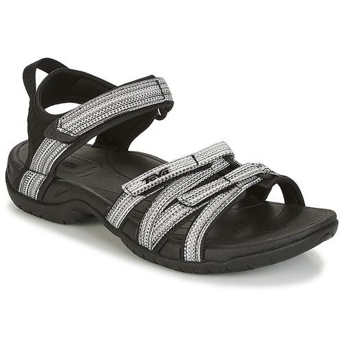 low priced 520a1 a7c85 Venta de liquidación de temporada Zapatos especiales Teva TIRRA Negro    Blanco
