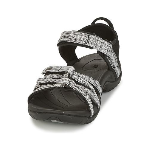 Venta de liquidación de temporada Zapatos especiales Teva TIRRA Negro / Blanco