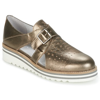 Zapatos Mujer Derbie Philippe Morvan DISCO Bronce