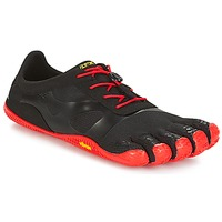Zapatos Hombre Running / trail Vibram Fivefingers KSO EVO Negro / Rojo