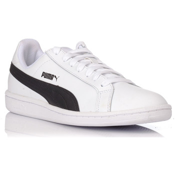 Zapatos Zapatillas bajas Puma SMASH LEATHER NEGRO