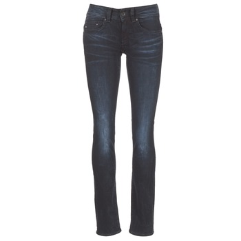 textil Mujer vaqueros rectos G-Star Raw MIDGE SADDLE MID STRAIGHT Rink