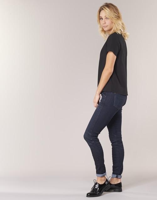 Vaqueros Textil Slim G Mid Skinny Mujer star Raw LeuntKbkqd 5622 l135TFcuJK