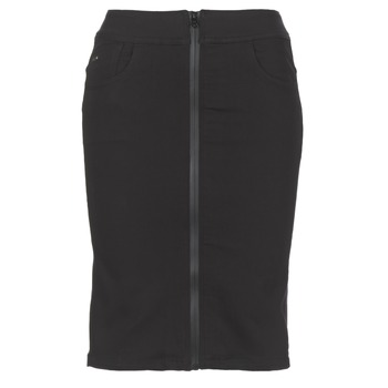 textil Mujer Faldas G-Star Raw LYNN LUNAR HIGH SLIM SKIRT Negro