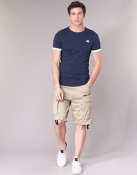 textil Hombre Shorts / Bermudas G-Star Raw ROVIC ZIP LOOSE 1/2 Beige