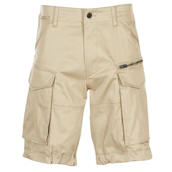 textil Hombre Shorts / Bermudas G-Star Raw ROVIC ZIP LOOSE 1/2 Beige
