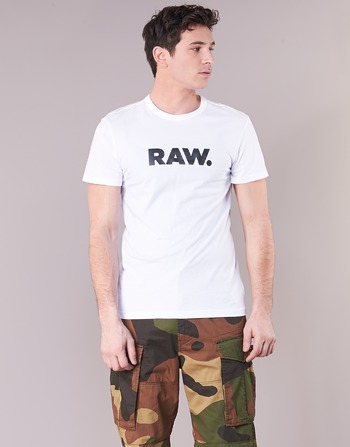 G-Star Raw HOLORN R T S/S Blanco