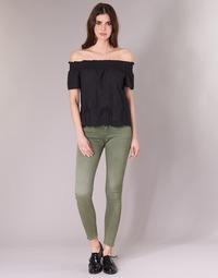 textil Mujer pantalones con 5 bolsillos G-Star Raw D-STAQ 5-PKT MID SKINNY COJ WMN Light / Hunter