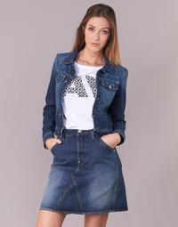 textil Mujer chaquetas denim G-Star Raw D-STAQ S DC DNM JKT WMN Medium / Envejecido