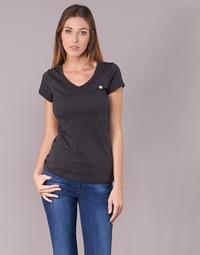 textil Mujer camisetas manga corta G-Star Raw EYBEN SLIM V T WMN S/S Negro