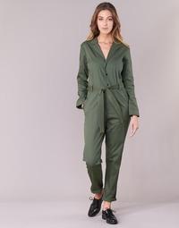 textil Mujer Monos / Petos G-Star Raw DELINE JUMPSUIT WMN L/S Kaki