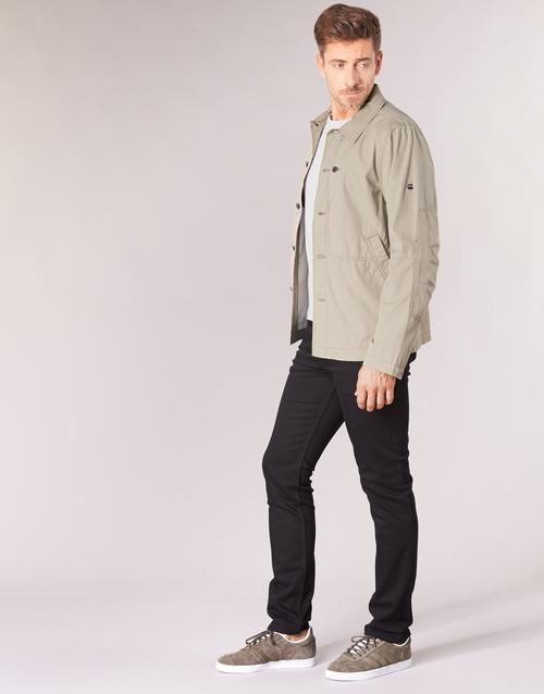 Hombre Raw Cazadoras Textil Beige G star Rackam Overshirt H29DeWYEI