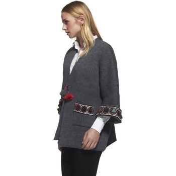 textil Mujer Chaquetas de punto The Extreme Collection Chaqueta  Sumo Gris Gris