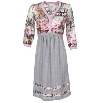 textil Mujer vestidos cortos Cream ZAIROCE Gris