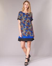 textil Mujer vestidos cortos Molly Bracken JUNCE Azul