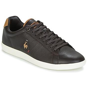 Zapatos Hombre Zapatillas bajas Le Coq Sportif COURTCRAFT S LEA Negro