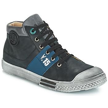 Zapatos Niño Botas urbanas GBB RUFINO Vtu / Negro / Dpf