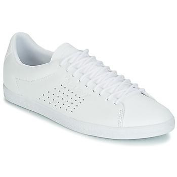 Zapatos Mujer Zapatillas bajas Le Coq Sportif CHARLINE LEATHER Blanco