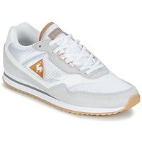 Zapatos Mujer Zapatillas bajas Le Coq Sportif LOUISET SUEDE/NYLON Gris / Blanco