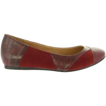 Zapatos Mujer Bailarinas-manoletinas Maria Mare 61260 Rojo
