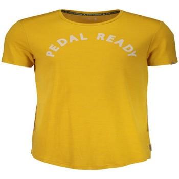 textil camisetas manga corta Maloja SurbergM. Amarillo