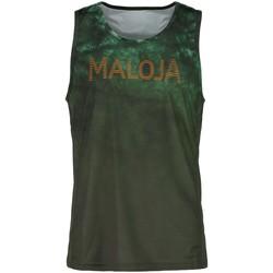 textil camisetas manga corta Maloja KarlsteinM. Verde