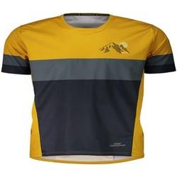 textil camisetas manga corta Maloja ReifingM. WS Multi 1/2 mustard Amarillo