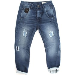 textil Niños vaqueros rectos Diesel FAYZA J-A S VAQUEROS chica DENIM MEDIUM BLUE DENIM MEDIUM BLUE