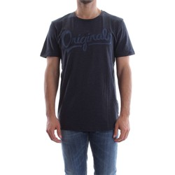 textil Hombre camisetas manga corta Jack&jones 12120723 ANYTHING T-SHIRT Hombre TOTAL ECLIPSE TOTAL ECLIPSE