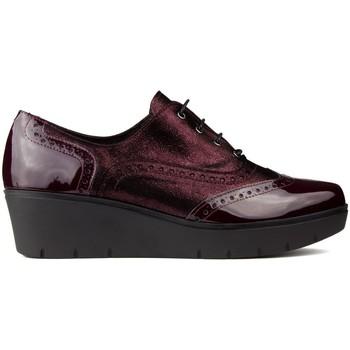 Zapatos Mujer Derbie Kroc S  CHAROL BURDEOS
