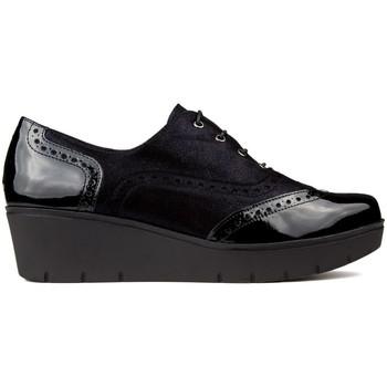 Zapatos Mujer Derbie Kroc S  CHAROL NEGRO