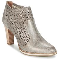 Zapatos Mujer Botines Myma LINOPOS Plata