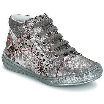 Zapatos Niña Botas de caña baja GBB ROSETTA Plata