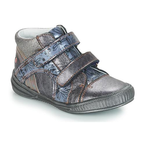 Los últimos zapatos de descuento para hombres y mujeres Zapatos especiales GBB ROXANE Vnv / Gris / Azul - estampado / Dpf / Sabina