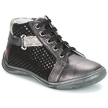 Zapatos Niña Botas de caña baja GBB RICHARDINE Gris / Negro